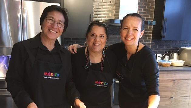 Équipe de Visit Mexico à Montréal