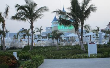 Bahia Principe Punta Cana's majestic spires highlight the landscape