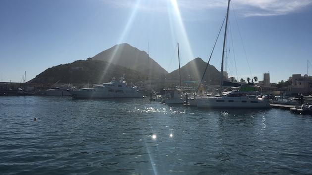 The sparkling waters of Cabo San Lucas