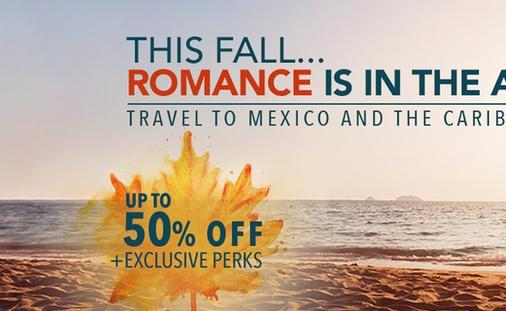 Fall in Love Again at Palladium with up to 50% OFF