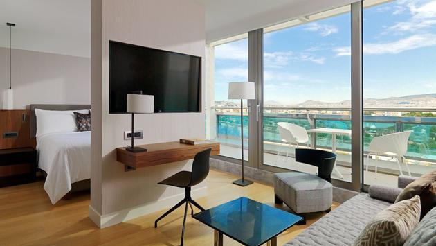 junior suite, athens marriott hotel