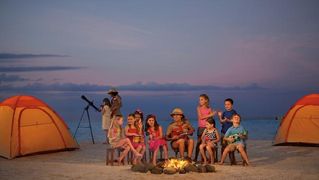 Explorer's Club campfire