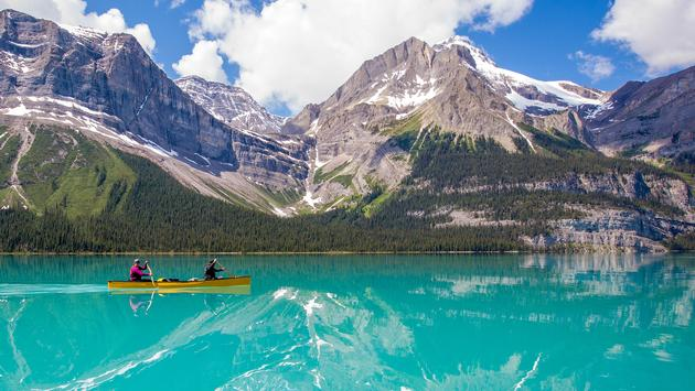 Canoeing in Alberta