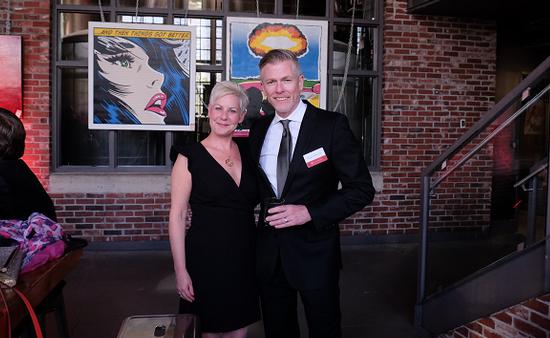 Denise Heffron and Mark Murphy