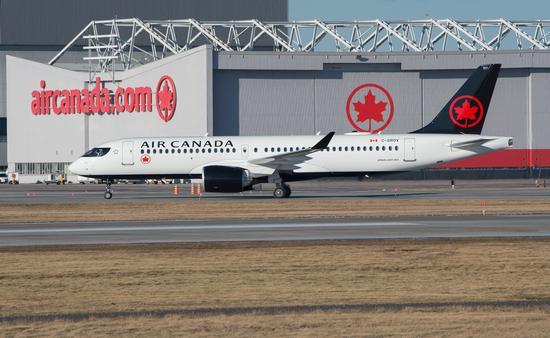 Airbus A220 d'Air Canada