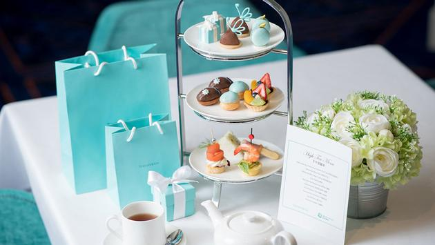 Tiffany & Co. High Tea Set on Dream Cruises' World Dream