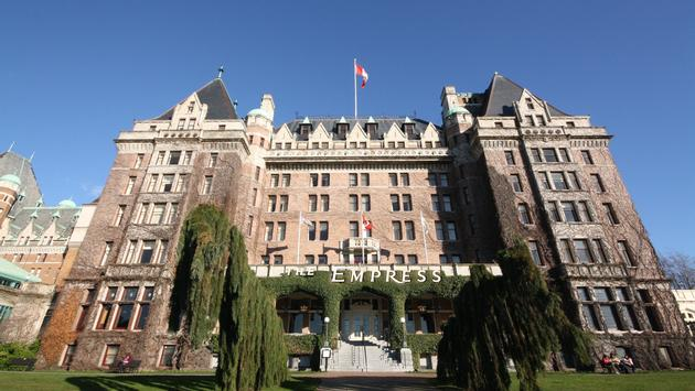 Fairmont Empress Hotel, Victoria BC