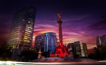 Mexico City's iconic Angell de Independencia.
