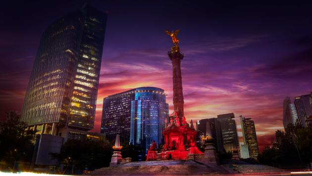 Mexico City's iconic Angell de Independencia.