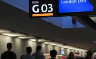 London Heathrow, airport, airport gate