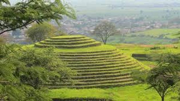 Sitio arqueológico de Guachimontones con pirámides circulares. (Foto de Theculturetrip.com)