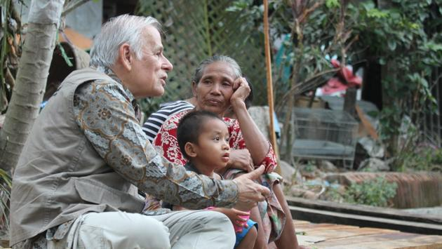 Aid is beginning to reach the northern parts of the island, which were among the worst hit by the quake, but witnesses on the ground in Kayangan said hundreds of people -- many young children and elderly -- are still waiting for help to reach their area.  (photo courtesy of Muslim Aid)
