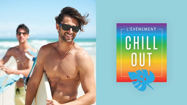 Évènement Chill Out, Vacances Air Canada