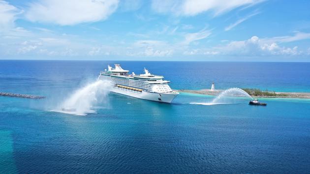 Adventure of the Seas arrives at Nassau June 8, 2021
