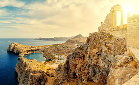 Acropolis of Lindos, Lindos, Rhodes, Greece