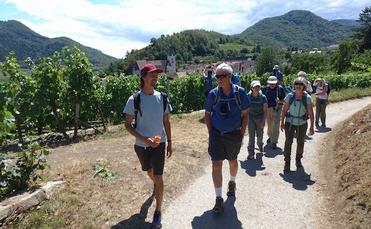 Hiking the Austrian alps with Adventure travel company Backroads and river cruise line AmaWaterways