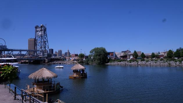 Tiki Hut Boats on the Buffalo River