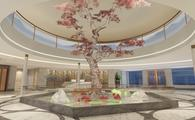 Rendering of the Lobby aboard the Victoria Sabrina.
