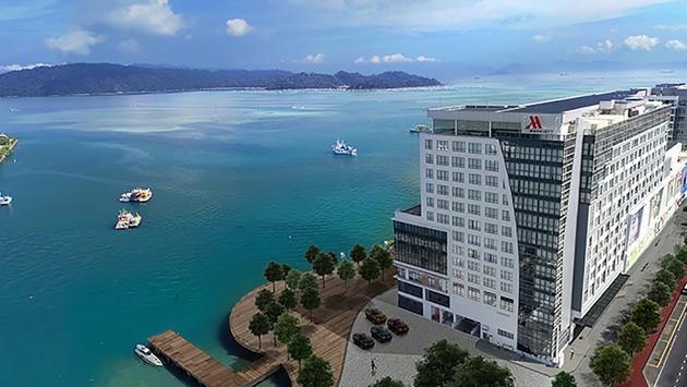 Kota Kinabalu Marriott Hotel, Sabah, Malaysia