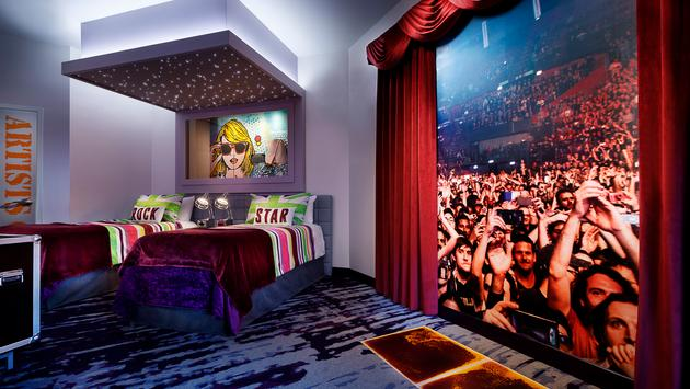 Future Rock Star Suites, Universal Orlando