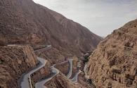 Dades Gorge in Dades Valley in Morocco.