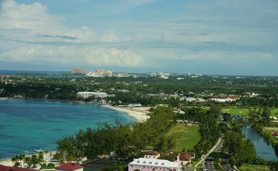 Bahamas coast from Baha Mar