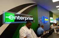 Enterprise Car Rental Counter