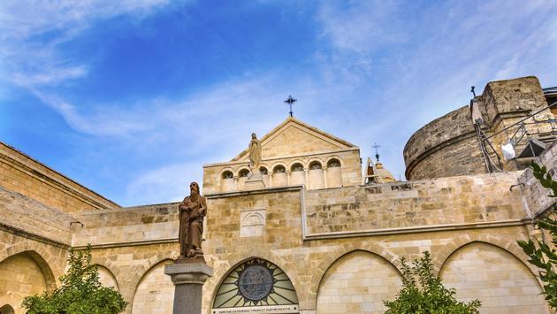 Saint Catherine Church Nativity Church Bethlehem West Bank Palestine