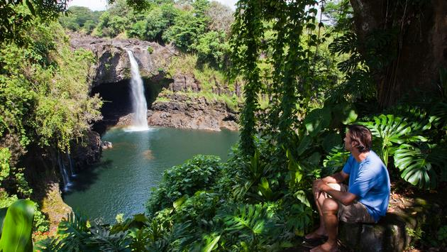 Rainbow Falls, Hilo, Hawai'i Big Island