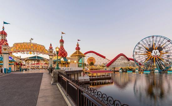 Disney California Adventure Park at Disneyland.