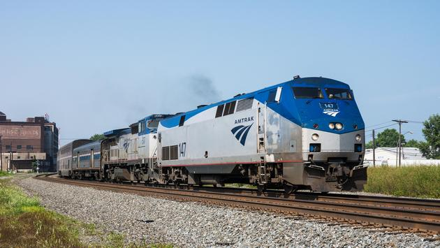 The Amtrak Capitol Limited passenger train