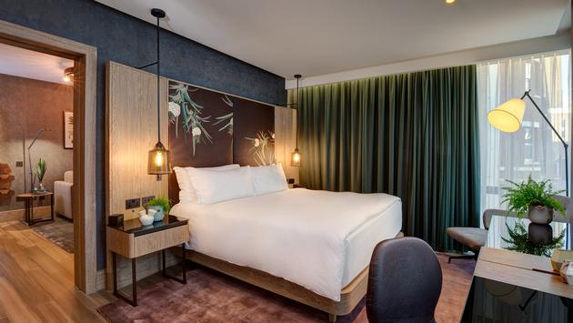 Vegan Suite at Hilton London Bankside