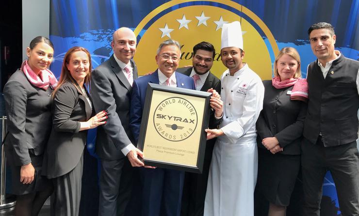 Plaza Premium Lounge Skytrax Award