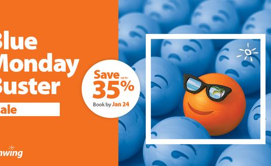 Sunwing Blue Monday Buister Sale
