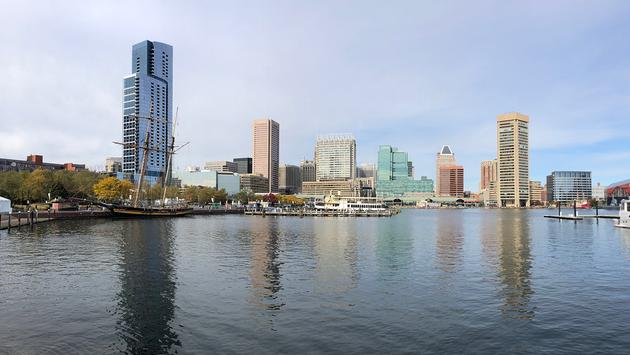 Baltimore waterfront