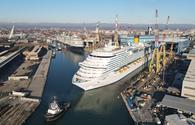 New ship leaves Fincantieri shipyard