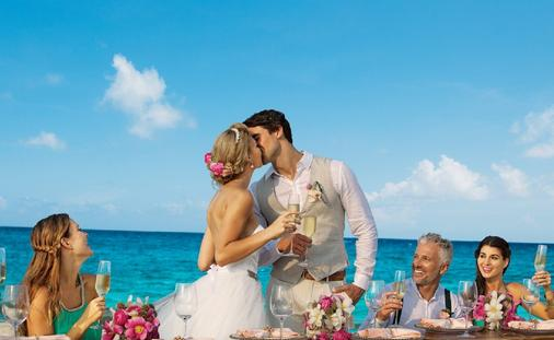 Dreams Playa Mujeres wedding