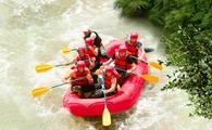 Rafting at Xavage, Xcaret Mexico