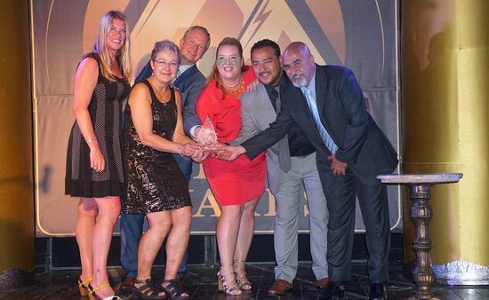 Team Canada at Grand Piton Awards, Saint Lucia