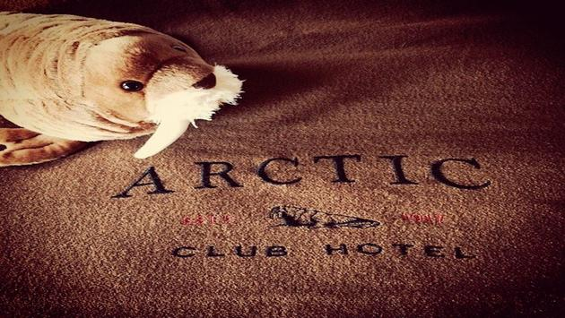 A guest room at the Arctic Club Seattle