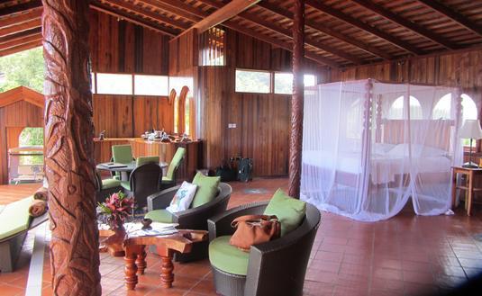 Suite at Ladera resort in Saint Lucia