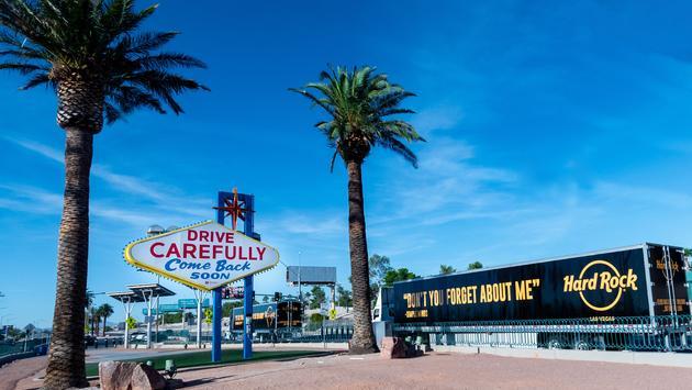 Hard Rock Hotel & Casino's music memorabilia leaving Las Vegas.
