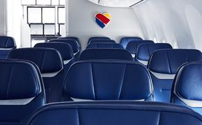 Southwest Boeing 737 MAX 8 cabin