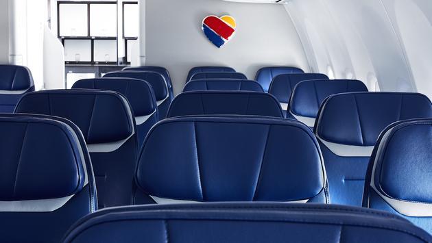 Southwest Boeing 737 MAX 8 cabin