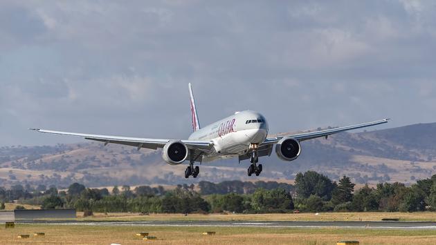 Qatar Airways touches down in Canberra, Australia