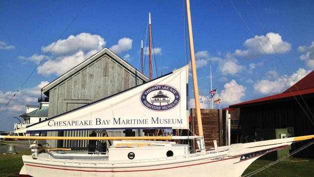The Chesapeake Bay Maritime Museum is located in St. Michaels, Maryland.
