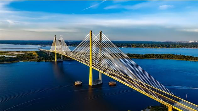 Dames Point Bridge, Jacksonville, Florida