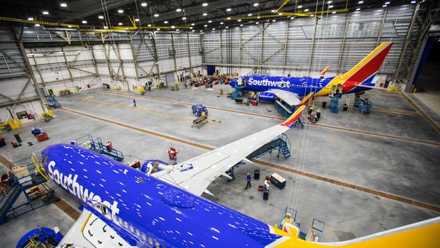 Southwest, Airlines, houston