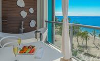 Dutch Beachfront Penthouse One Bedroom Butler Suite with Balcony Tranquility Soaking Tub