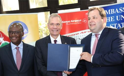 Kenya Airways agreement